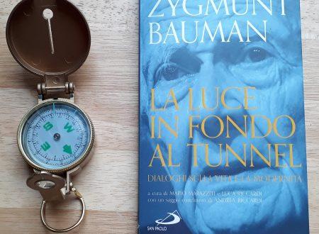 """""""La luce in fondo al tunnel"""" di Zygmunt Bauman invito al dialogo per un futuro migliore"""
