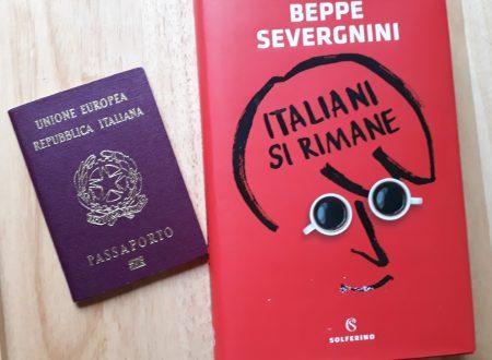 """""""Italiani si rimane"""" in un modo in cui tutto cambia velocemente, si torna sempre alle proprie radici"""